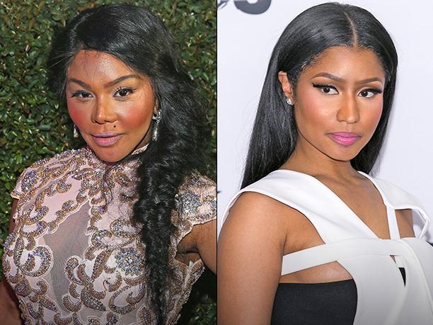 Lil' Kim and Nicki Minaj
