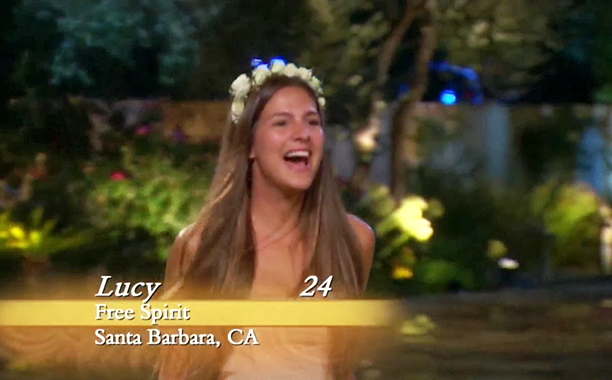 """Free Spirit,"" Lucy Aragon on Season 18 of The Bachelor"