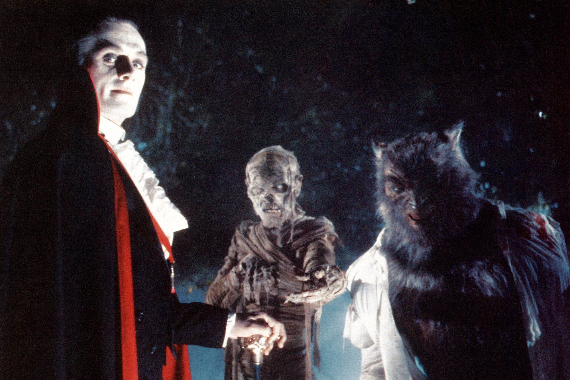 THE MONSTER SQUAD, Duncan Regehr, Michael Reid MacKay, Carl Thibault, 1987, (c)TriStar Pictures/cour