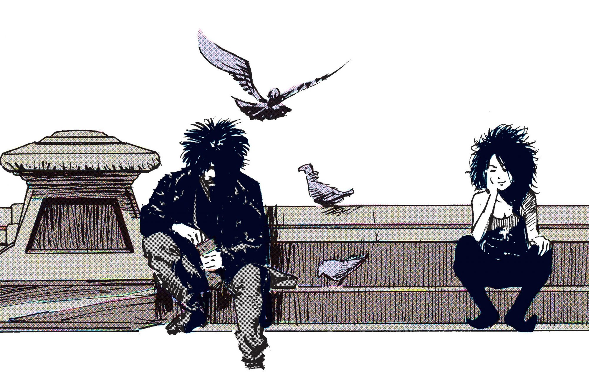 Morpheus a.k.a. Dream is a fictional character who first appeared in the first issue of The Sandman