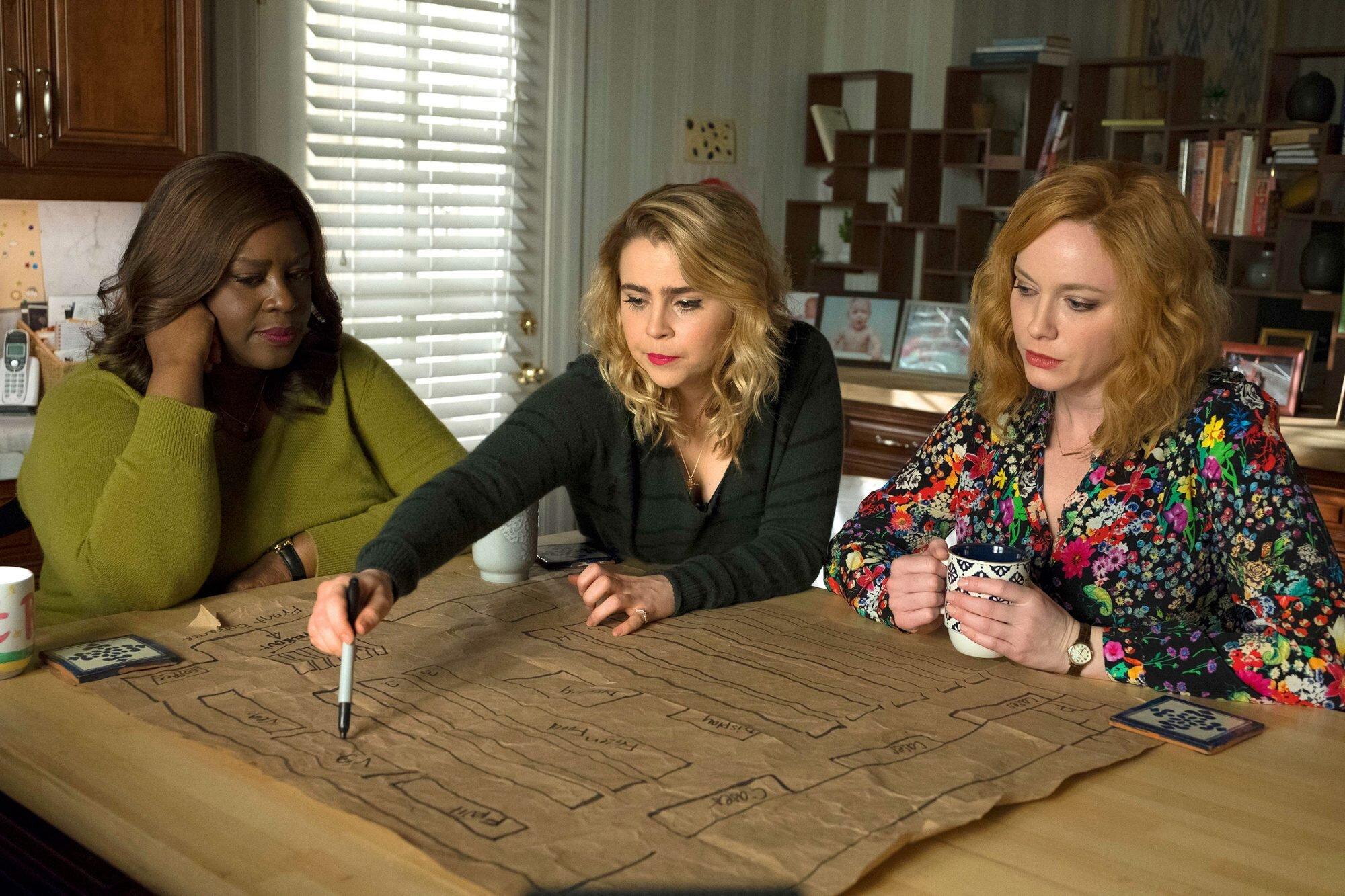 Good Girls boss talks finale cliffhanger and season 2 plans   EW.com