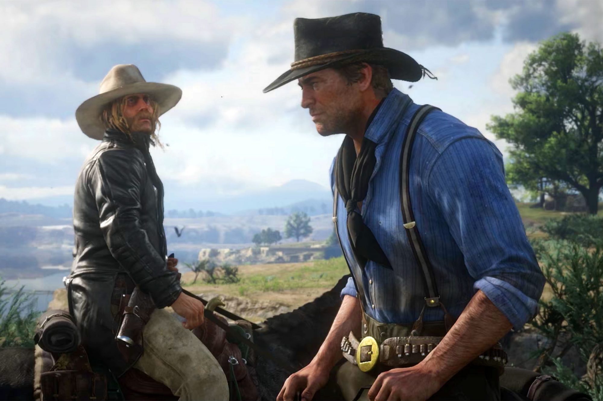 Red Dead Redemption 2 Drops A Tense Trailer With A Familiar Face Ew Com
