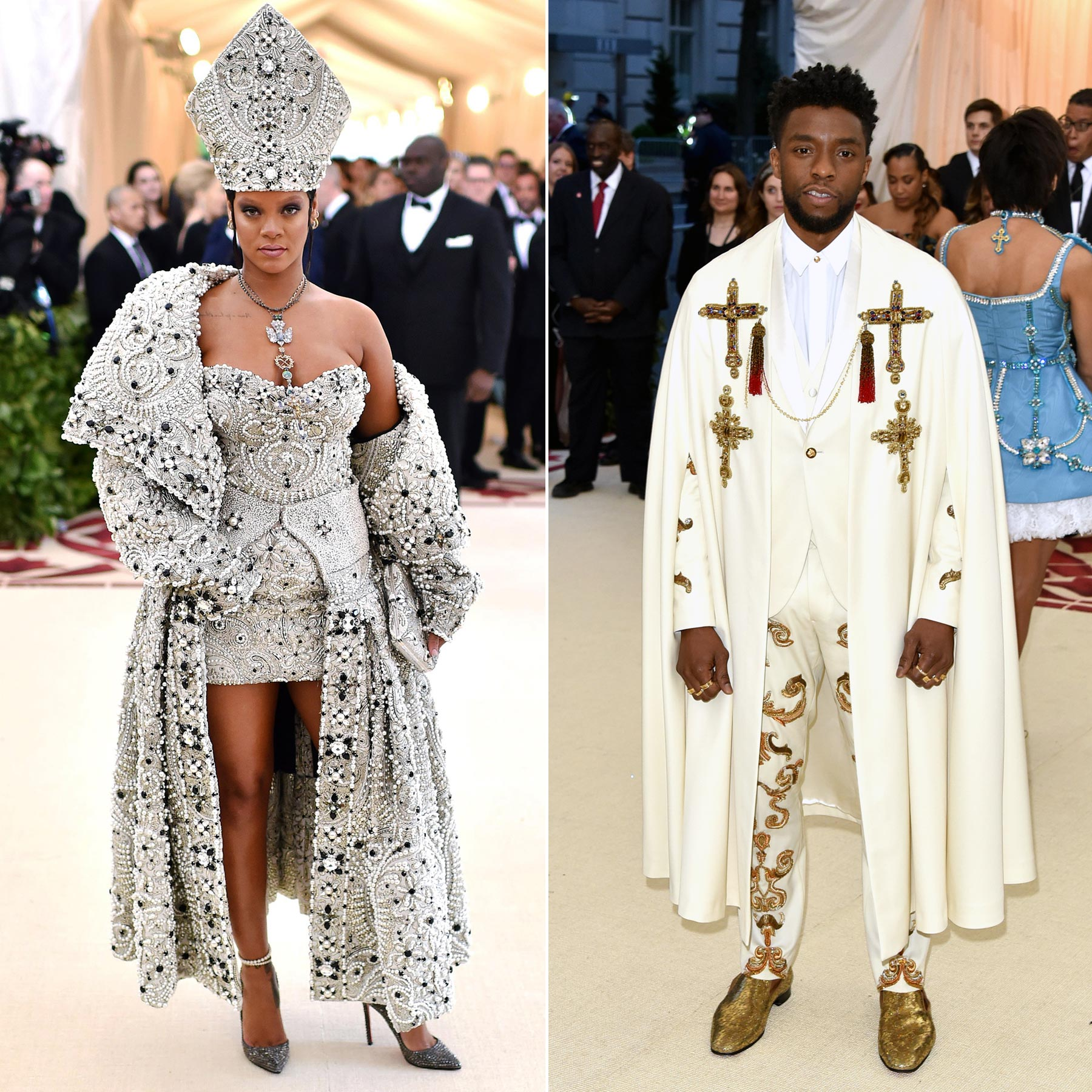 2018 — Heavenly Bodies: Fashion and the Catholic Imagination