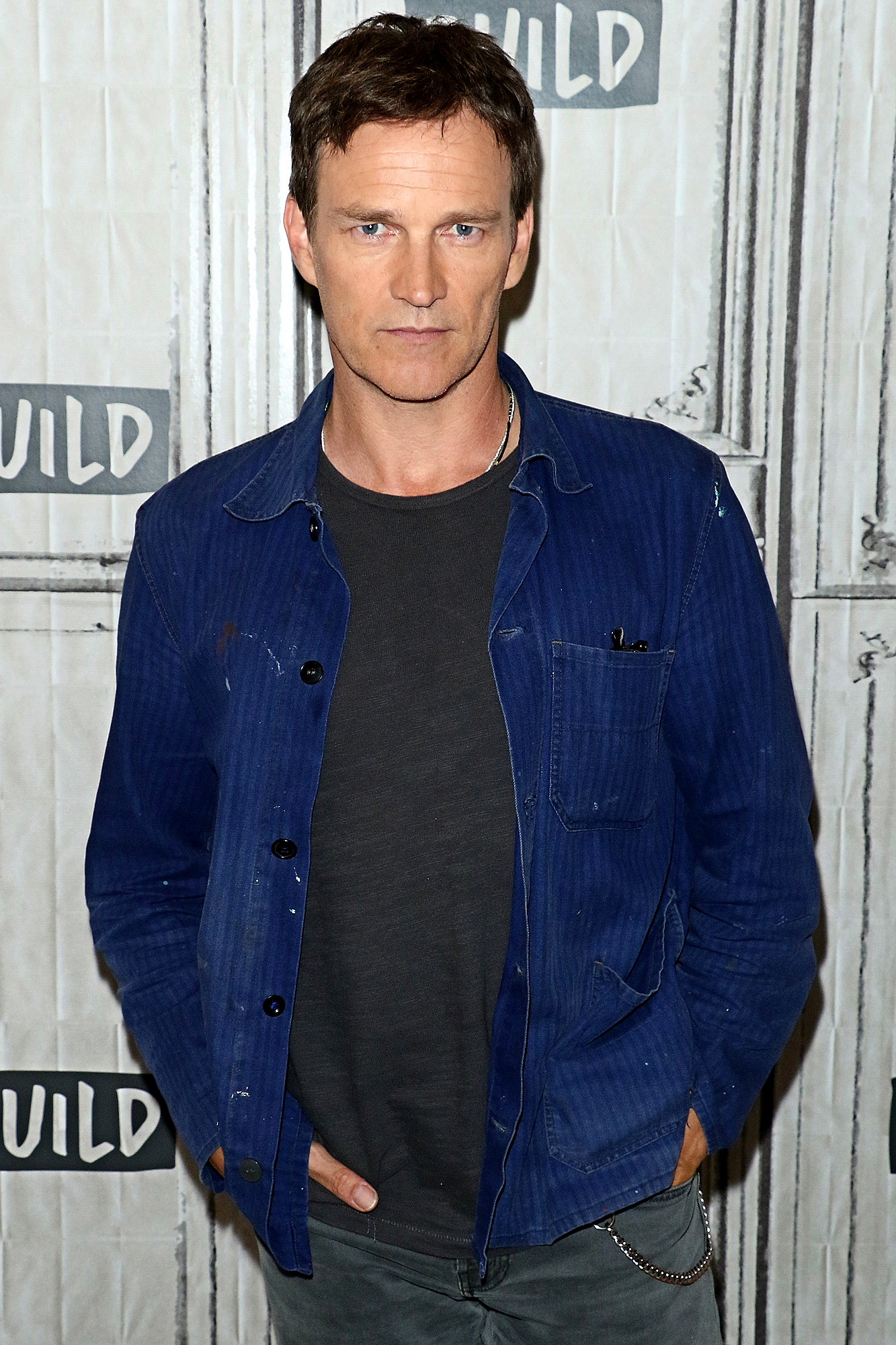 "Build Presents Stephen Moyer Discussing ""The Gifted"""