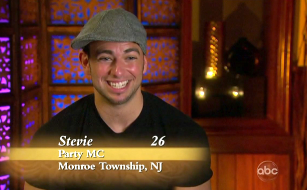 """Party MC,"" Stevie Alberino on Season 8 of The Bachelorette"