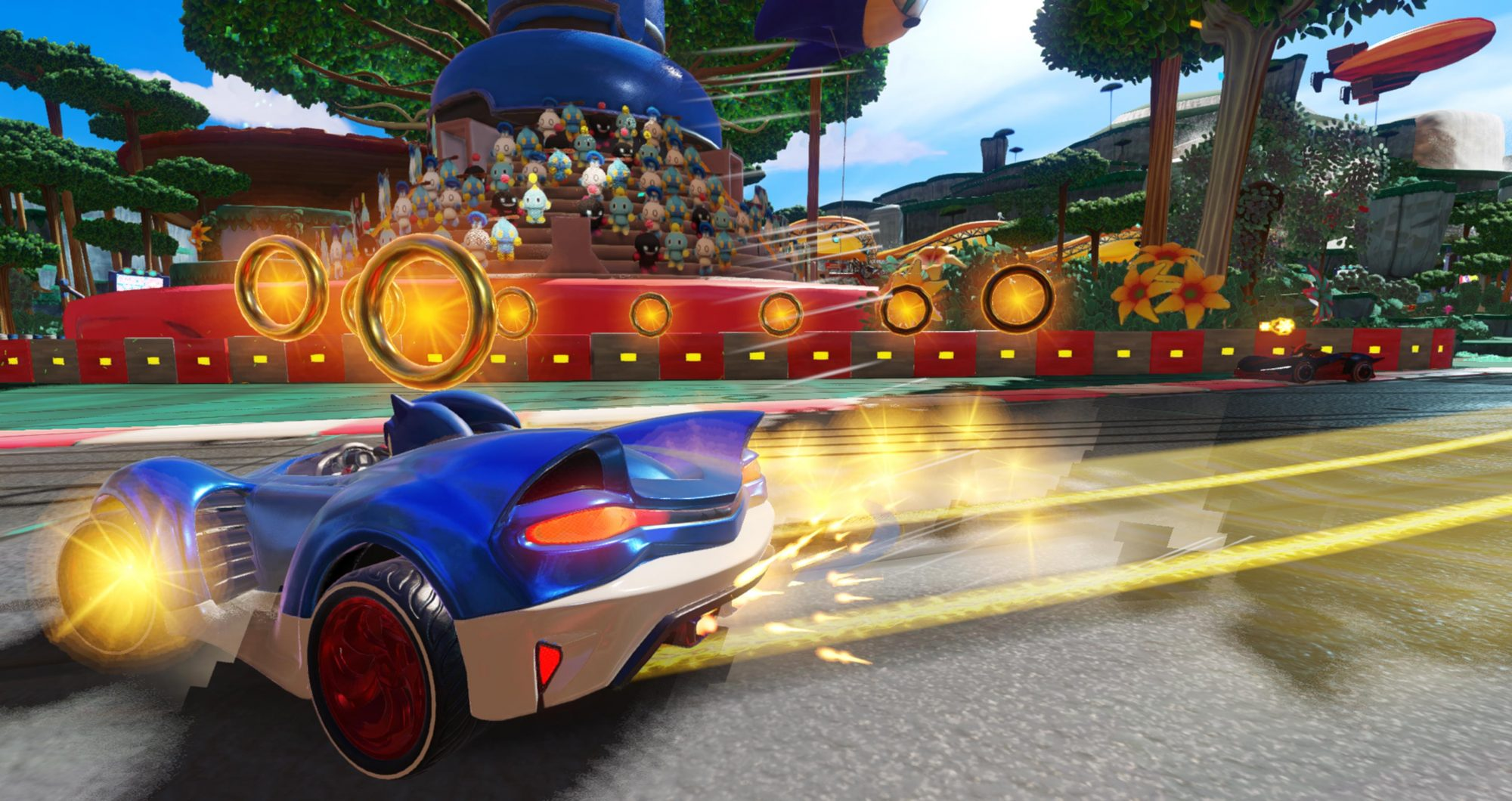 Team Sonic Racing CR: Sega