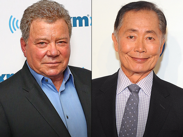 William Shatner and George Takei