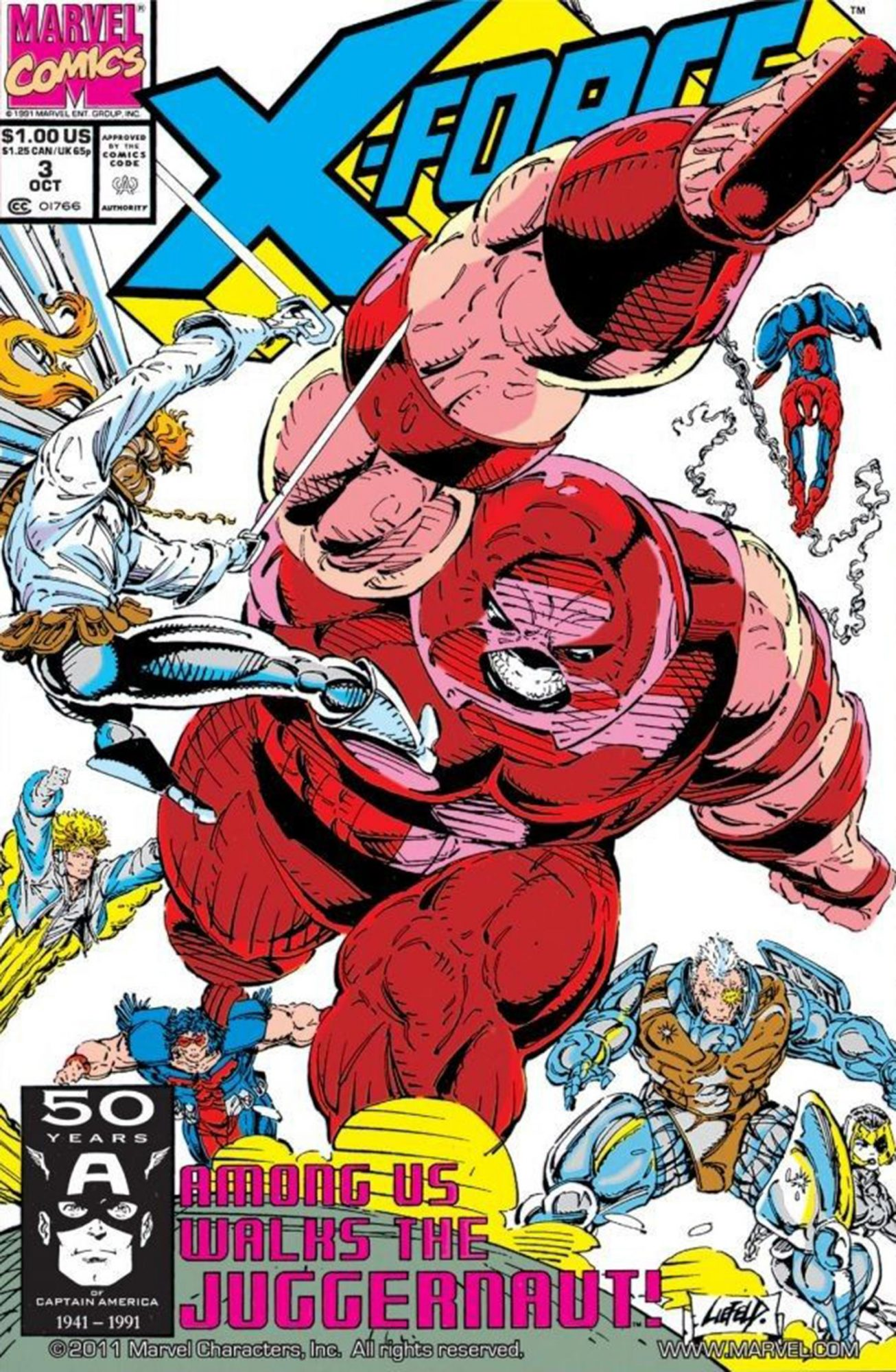 X-Force (1991-2002) #3 CR: Marvel