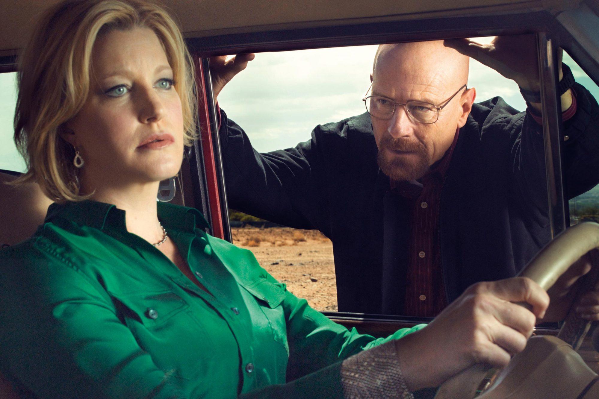 Breaking BadAnna Gunn, Bryan Cranston CR: Ben Leuner/AMC