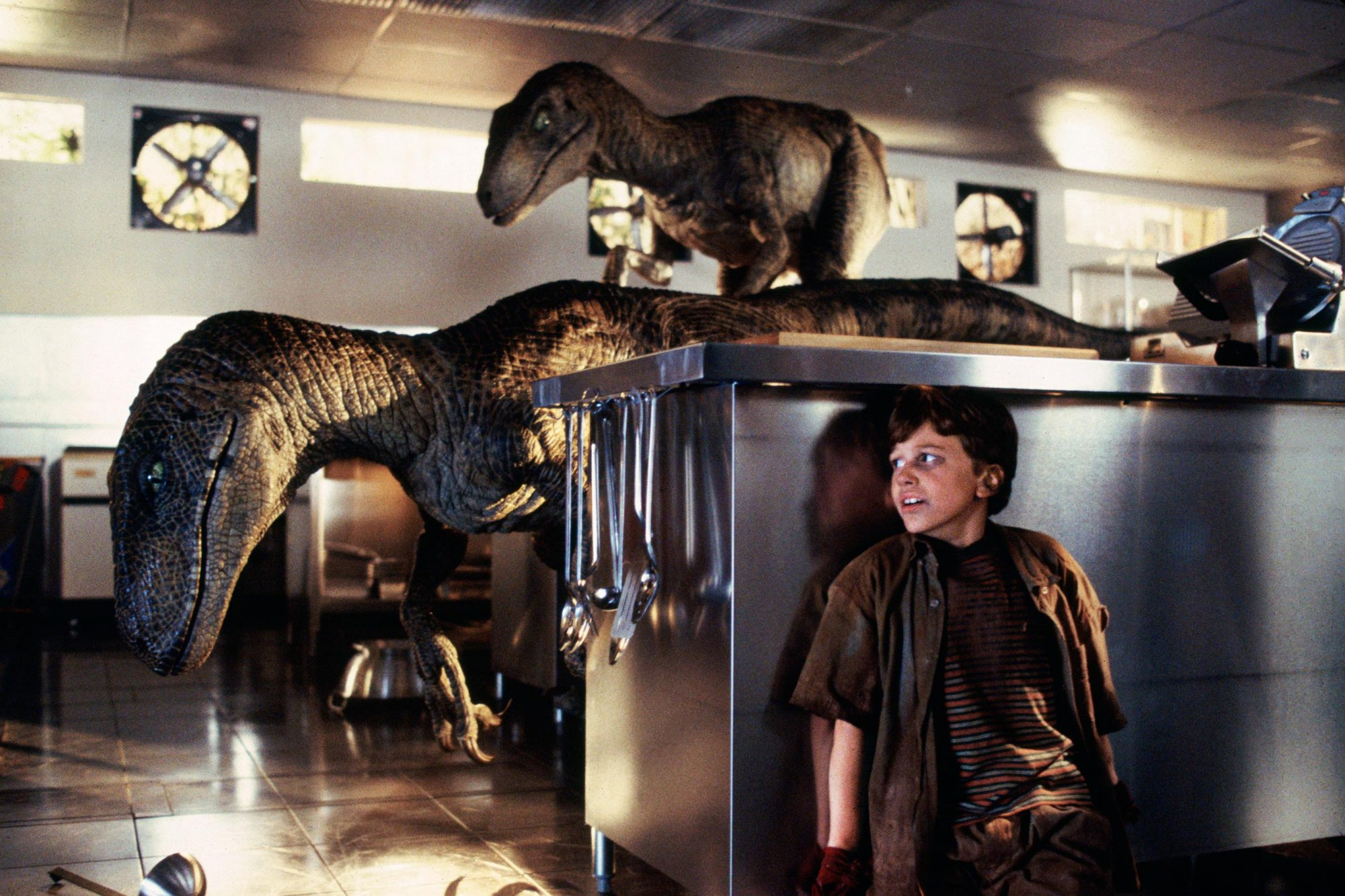 Jurassic Park  1993Joseph Mazzello as Tim