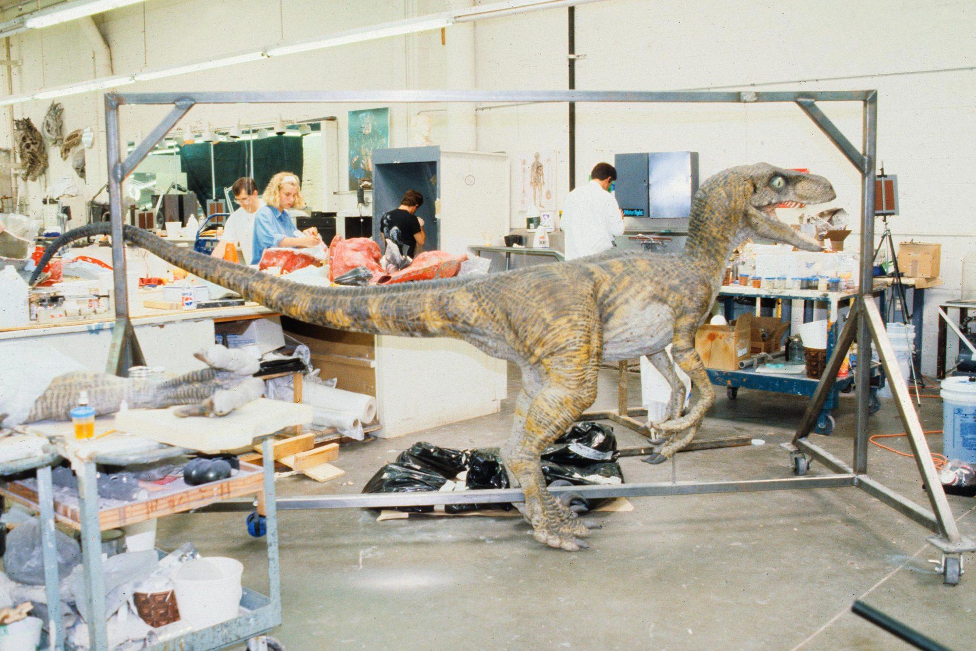 Jurassic Park (1993)Stan Winston (left)