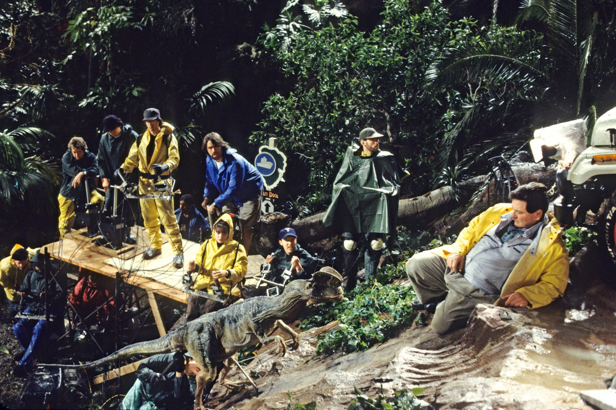 Jurassic Park How The F X Teams Brought The Dinosaurs To Life Ew Com