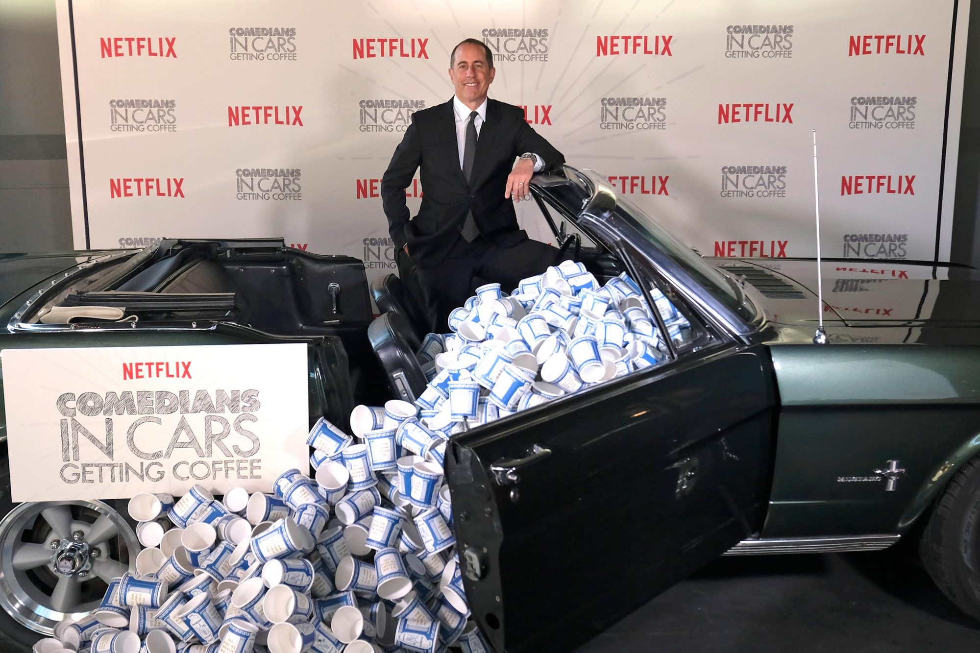 Comedians in Cars Getting Coffee - New York Event