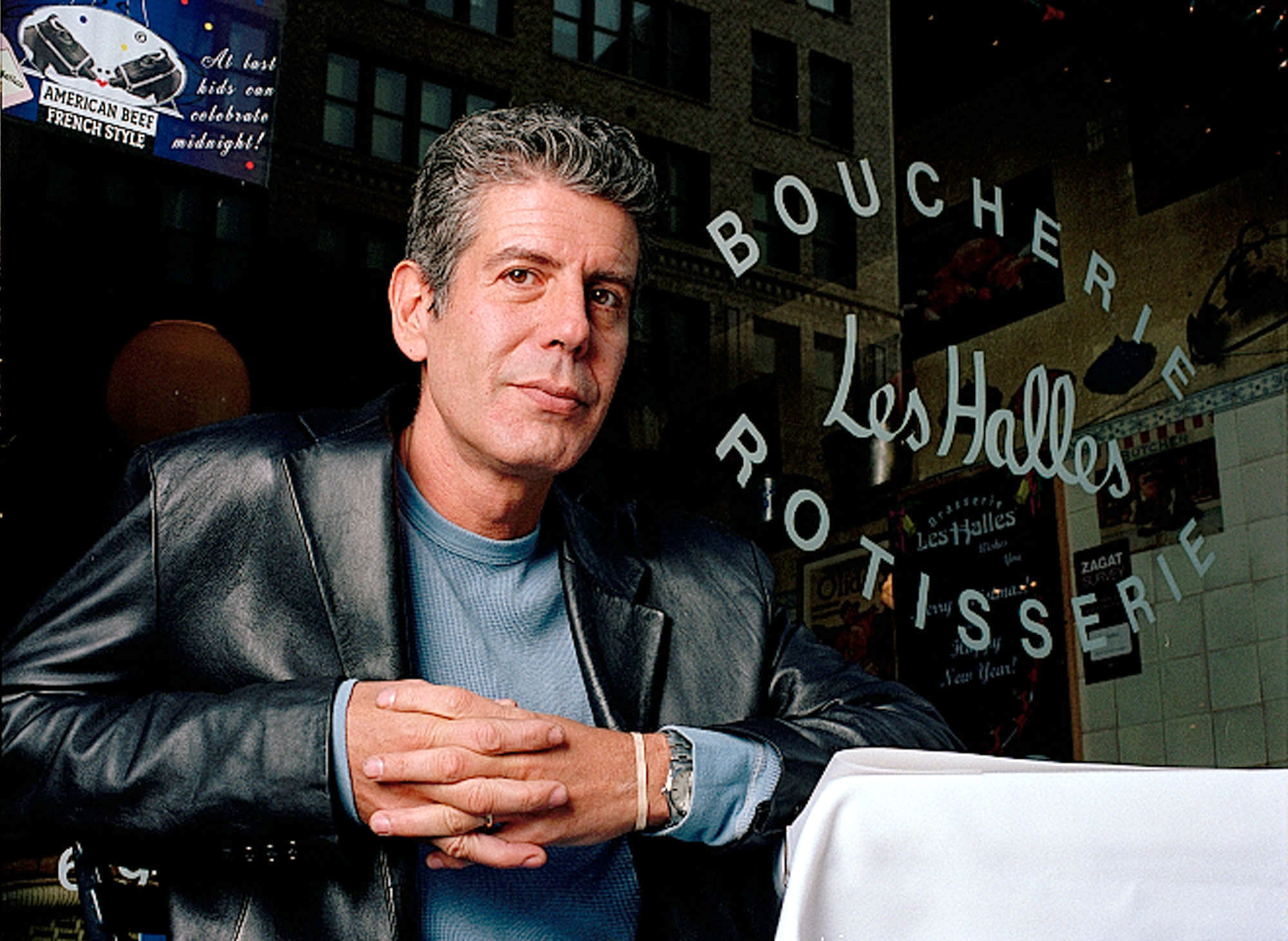 FIVEQS ANTHONY BOURDAIN, NEW YORK, USA