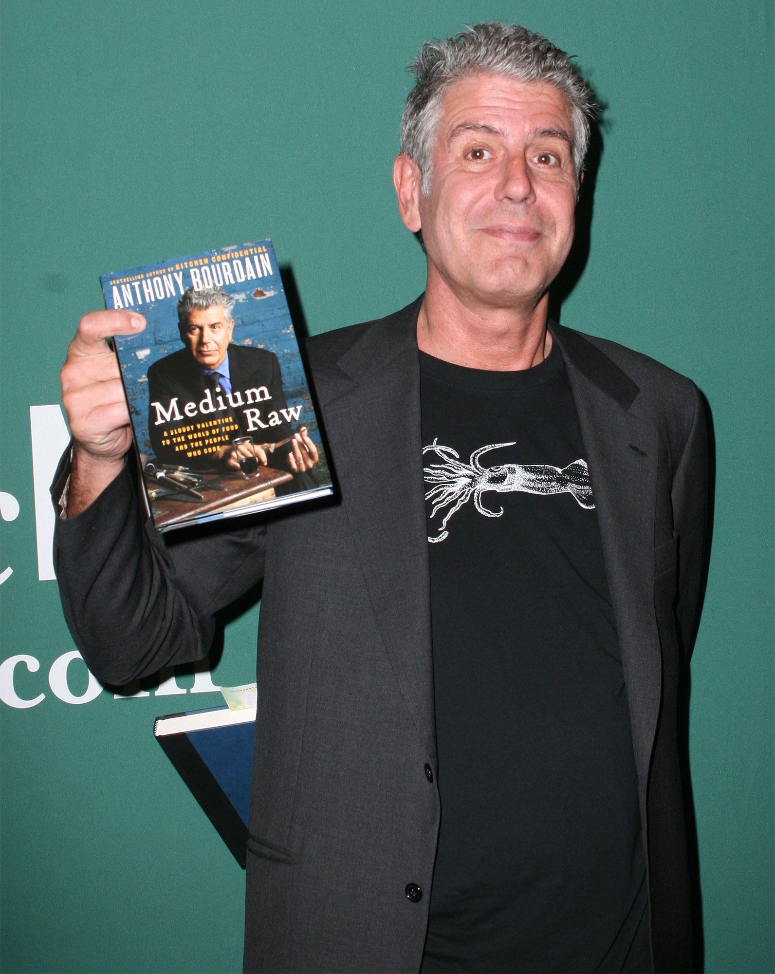 Anthony Bourdain Book Signing, New York, America - 08 Jun 2010