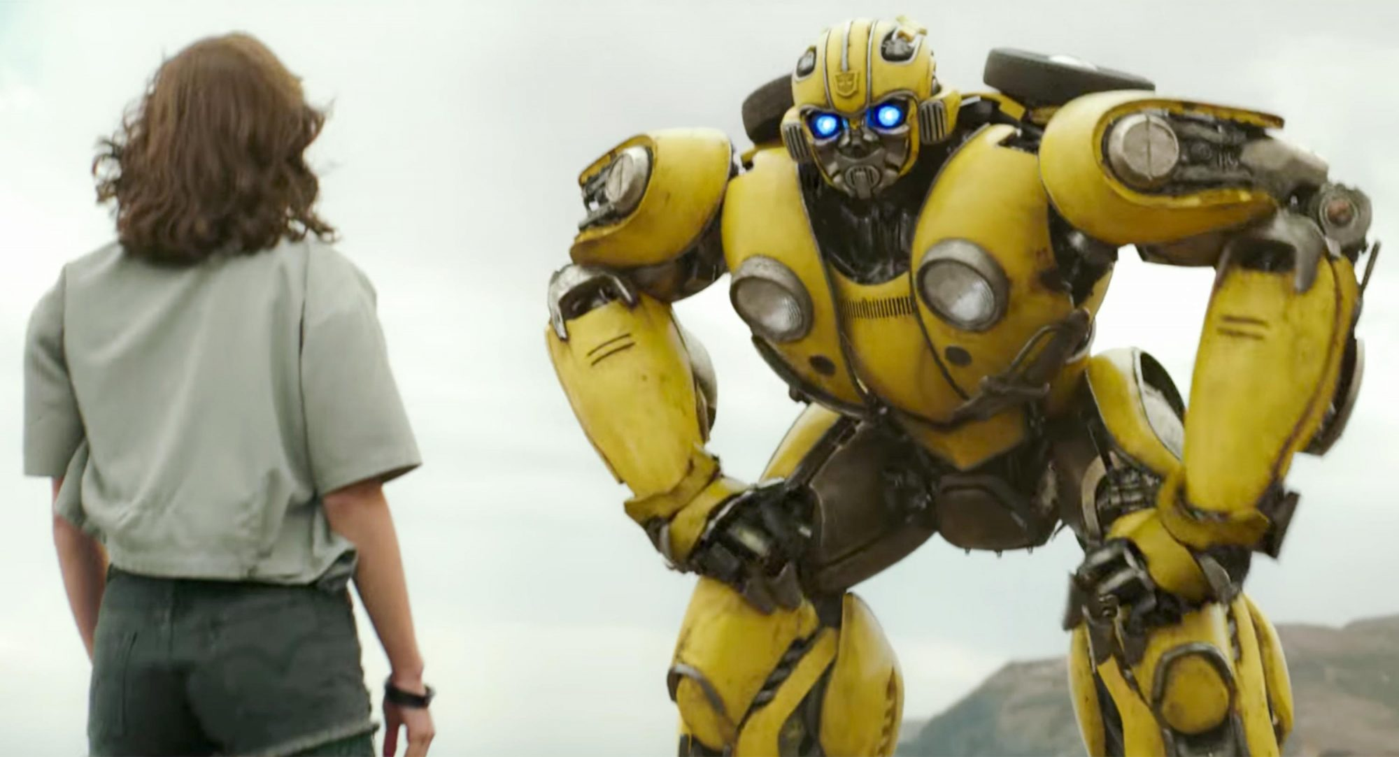 Bumblebee Trailer screen grabCredit: Paramount Pictures