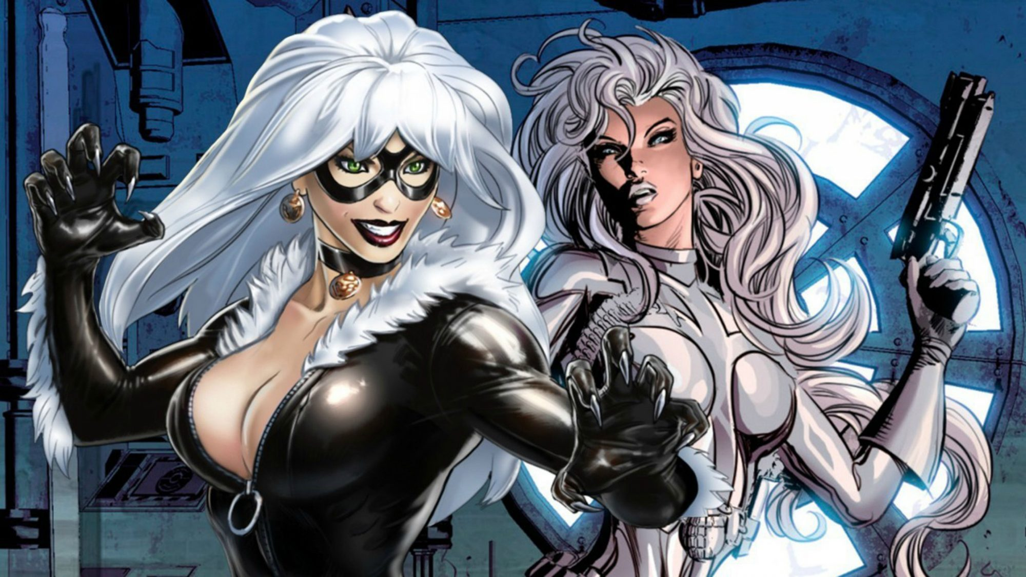 Black Cat and Silver Sable CR: Marvel