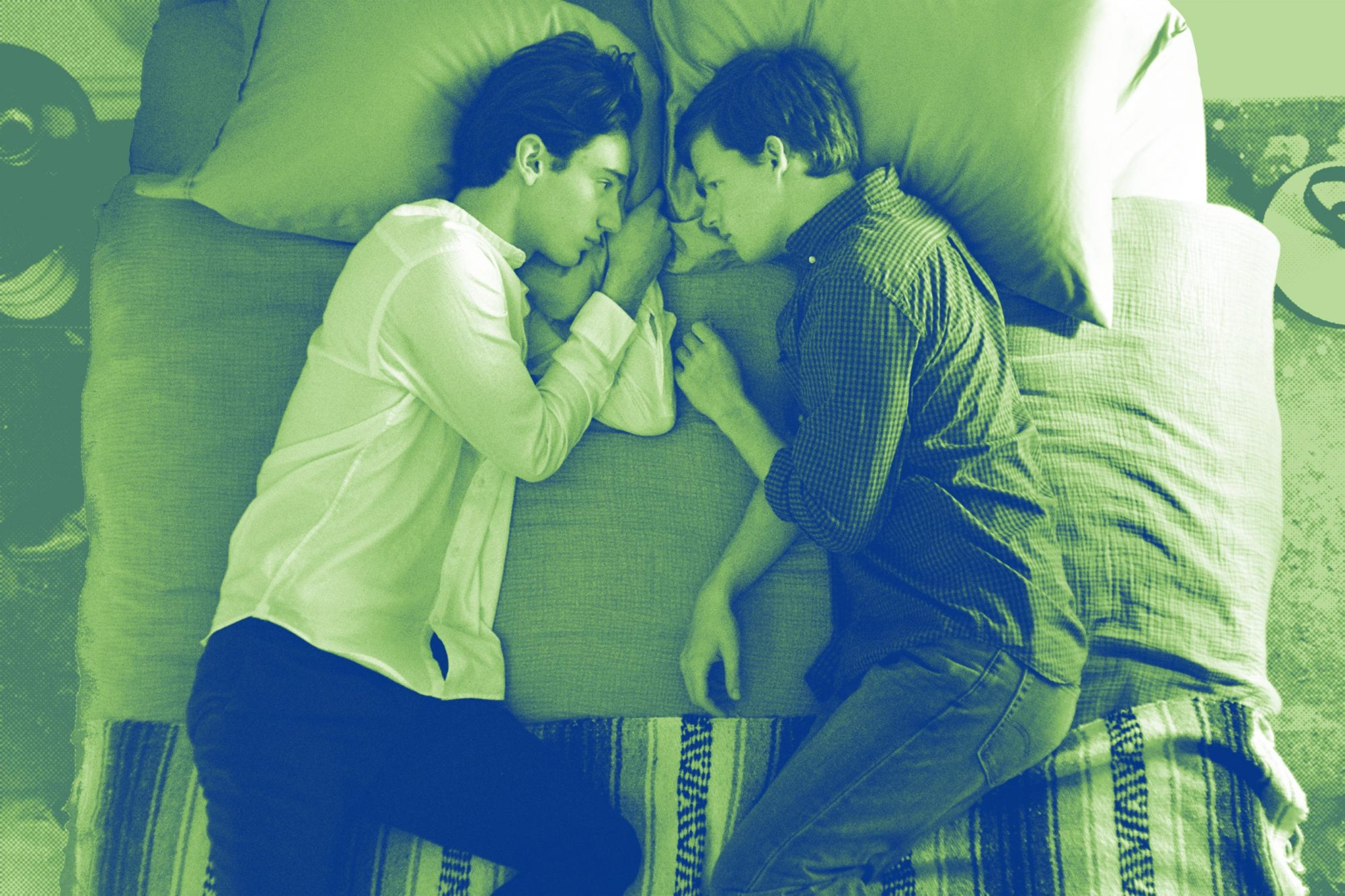 "BOY ERASEDTheodore Pellerin as ""Xavier"" and Lucas Hedges as ""Jared"""