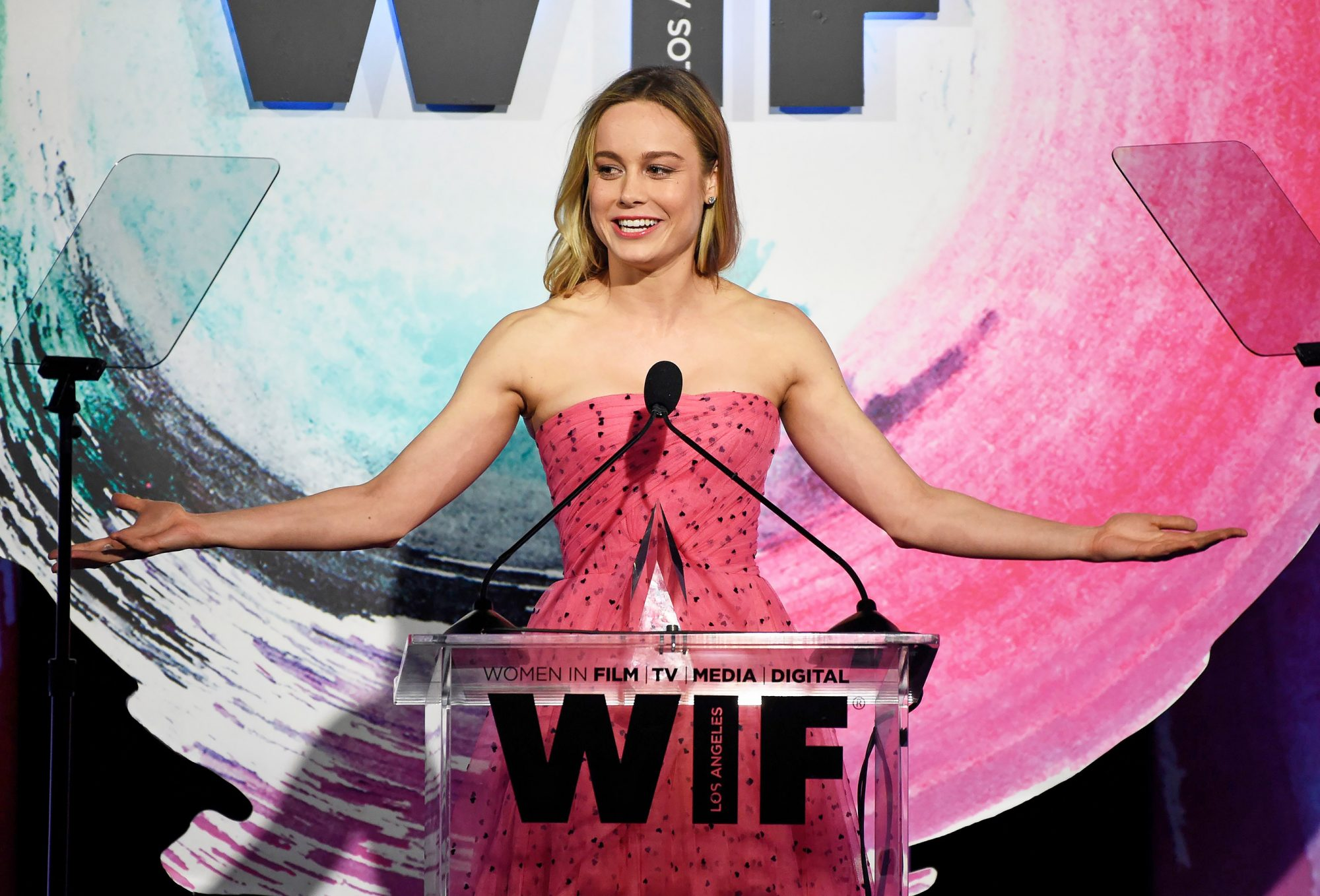 Women In Film 2018 Crystal and Lucy Awards - Show, Beverly Hills, USA - 13 Jun 2018