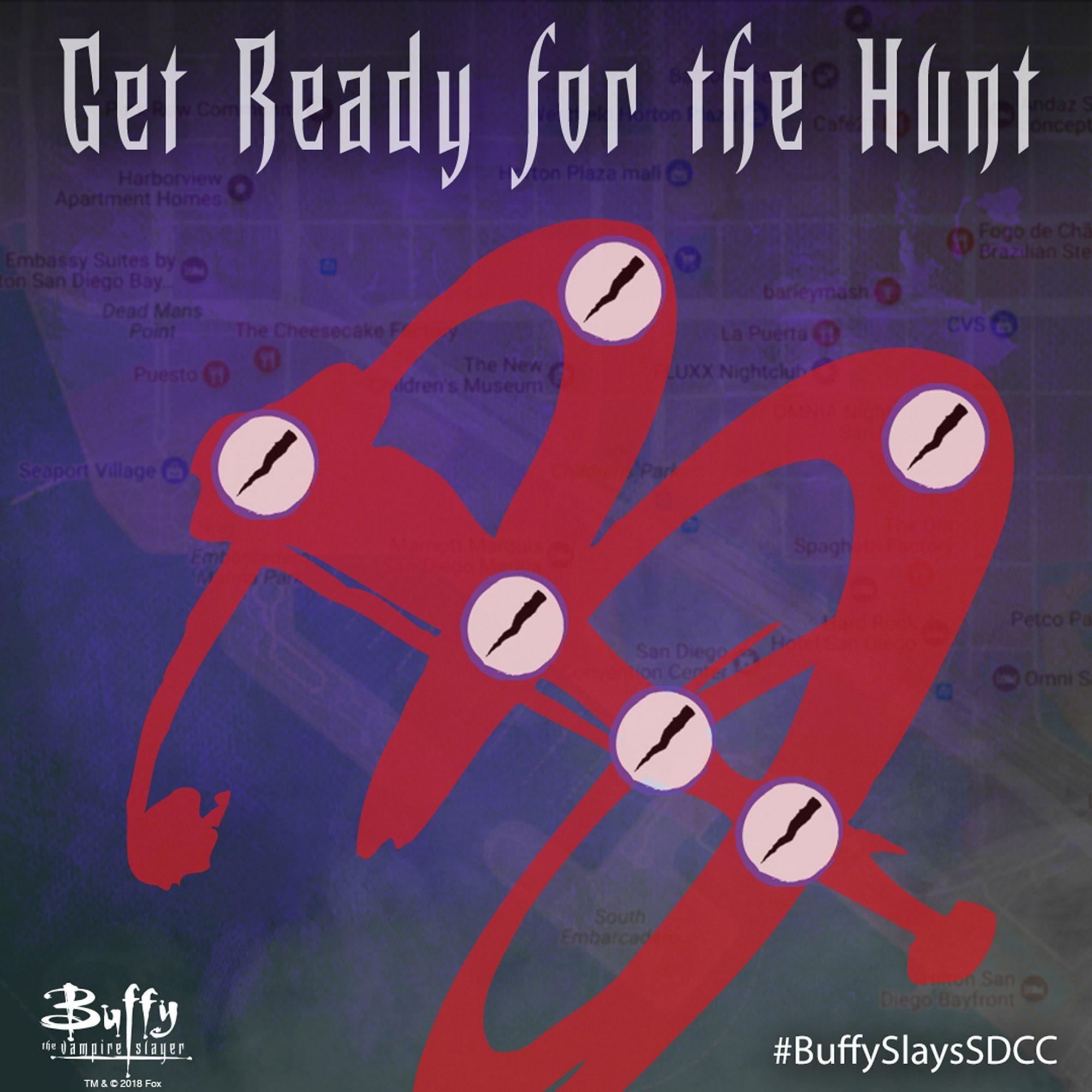 Buffy the Vampire Slayer scavenger hunt