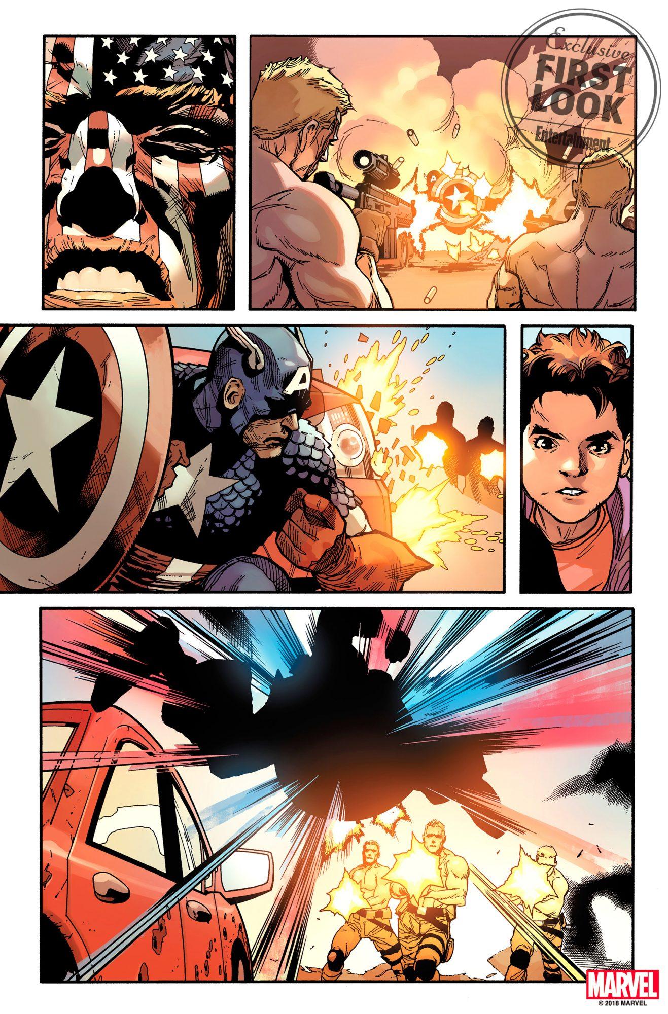 Captain America Comics Series by Ta-Nehish Coates