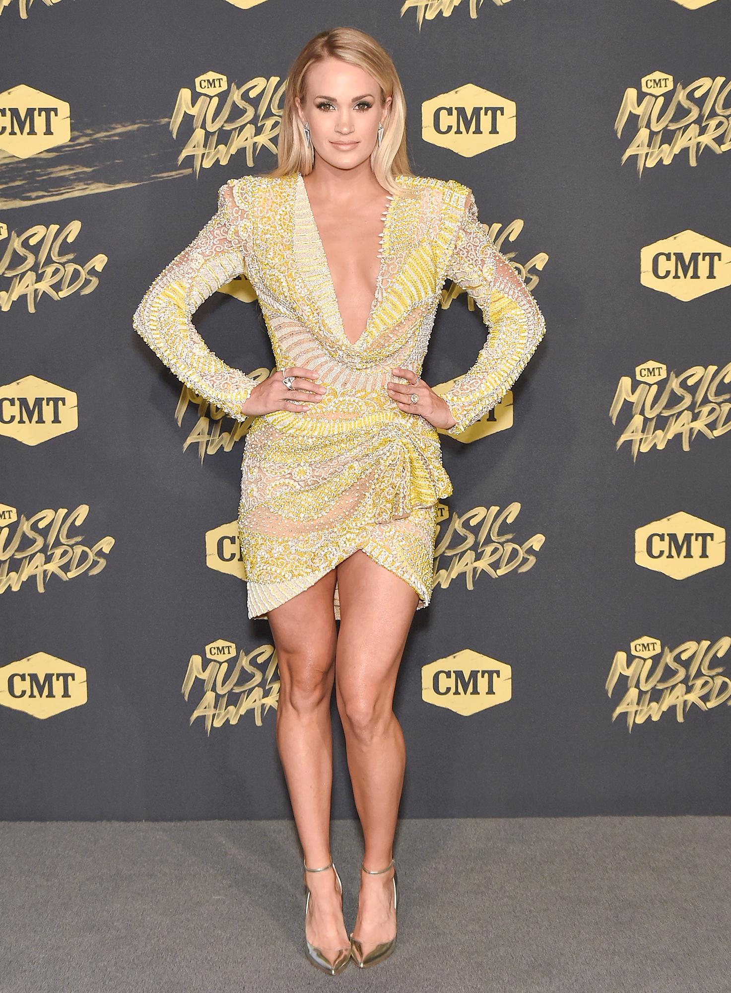 CMT Awards 2018 Arrivals, Celebrity Photos