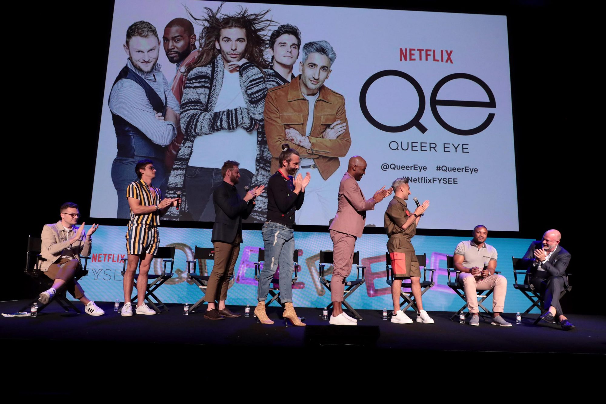 Netflix FYSEE Queer Eye Panel, Los Angeles, CA, USA - 31 May 2018