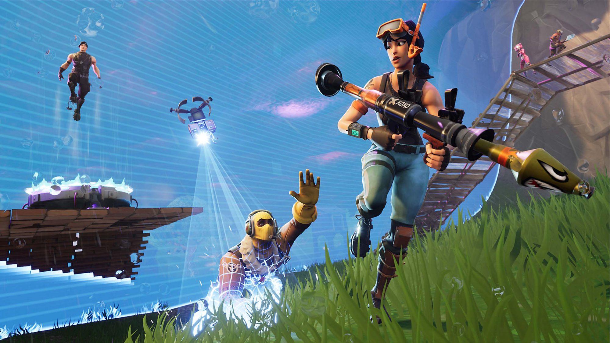 Fortnite: Battle Royale CR: EPIC GAMES