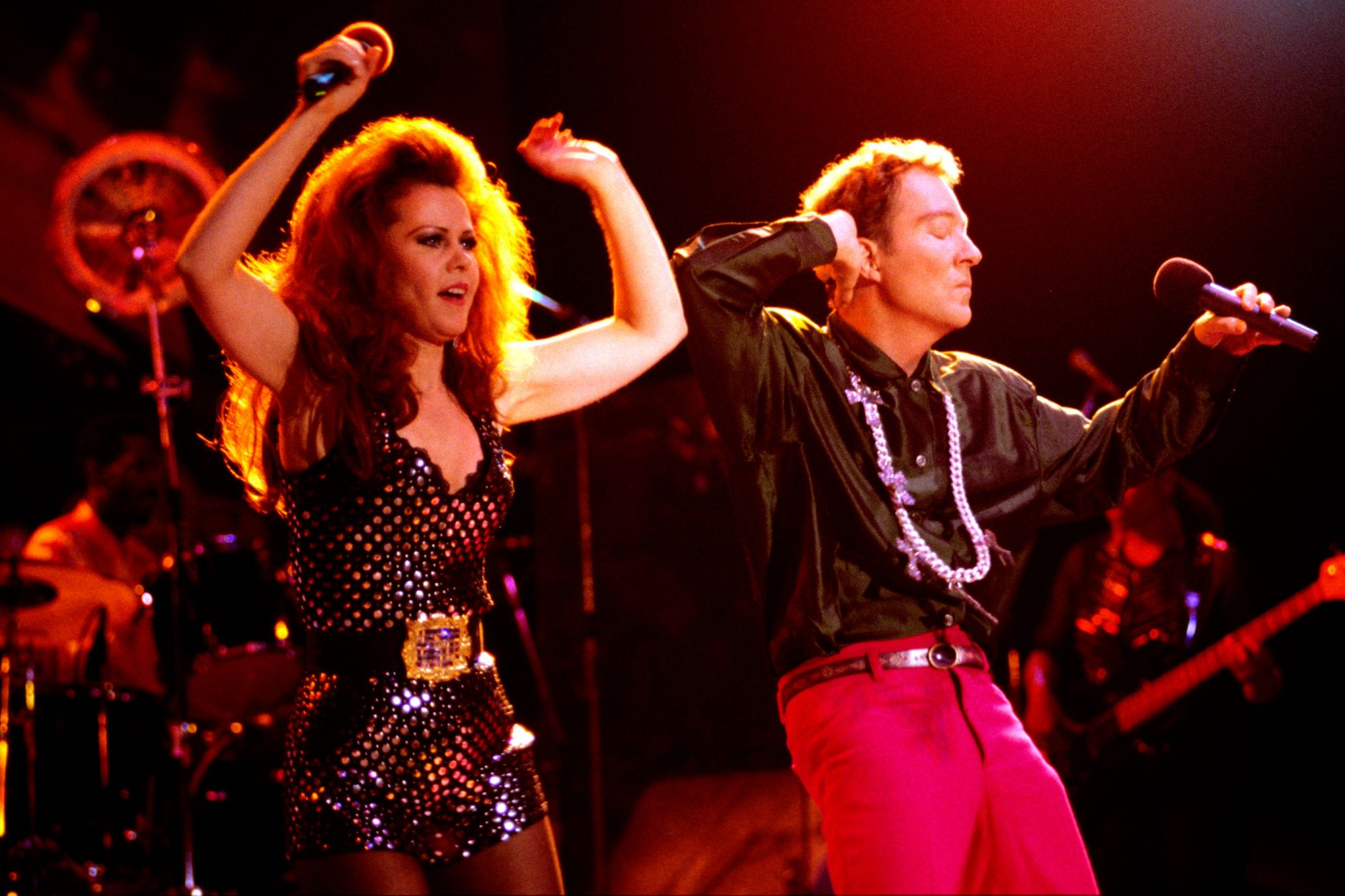 The B-52s in Concert 1992 - Mountain View CA
