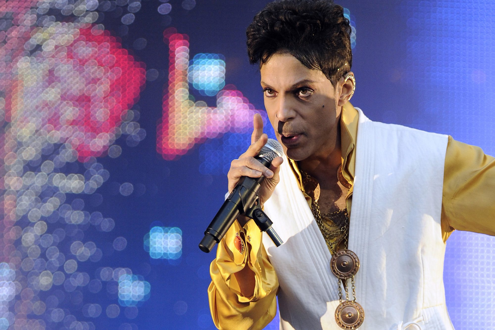 US singer and musician Prince (born Prin