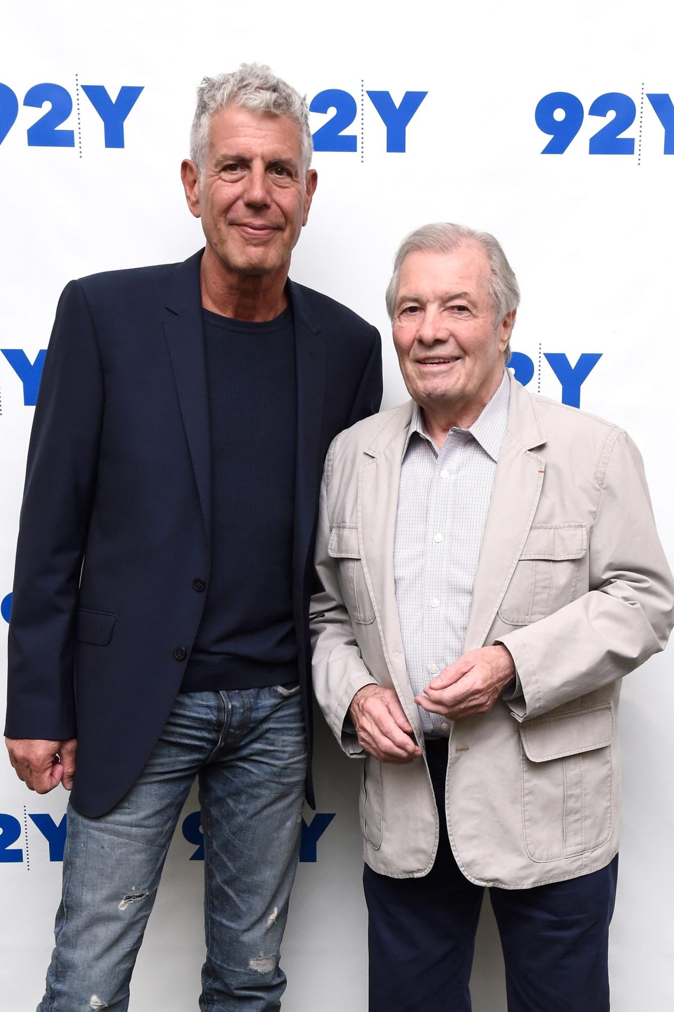 92nd Street Y Presents Jacques Pepin & Anthony Bourdain: Home and Away