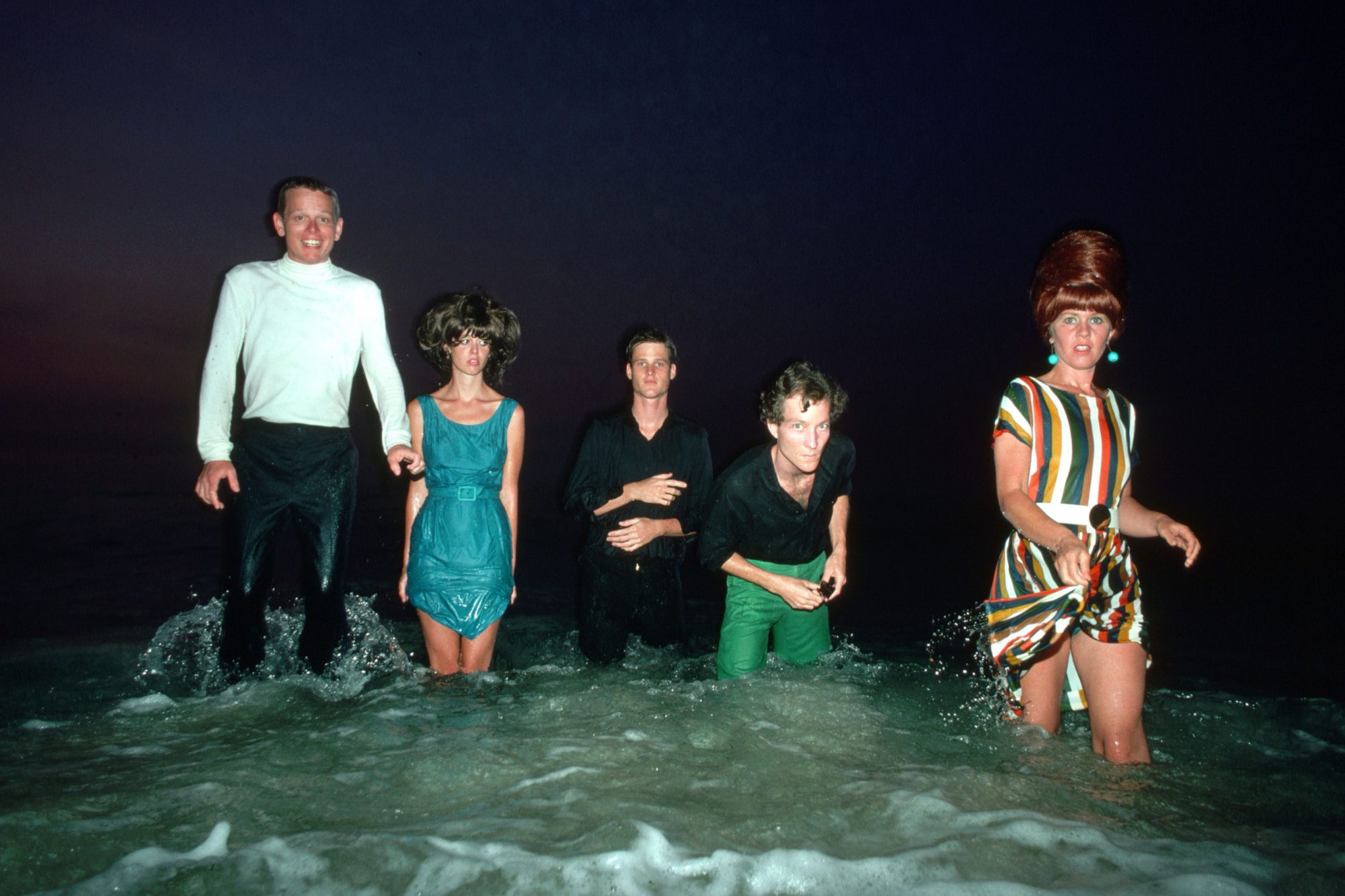 New Wave Group the B-52s