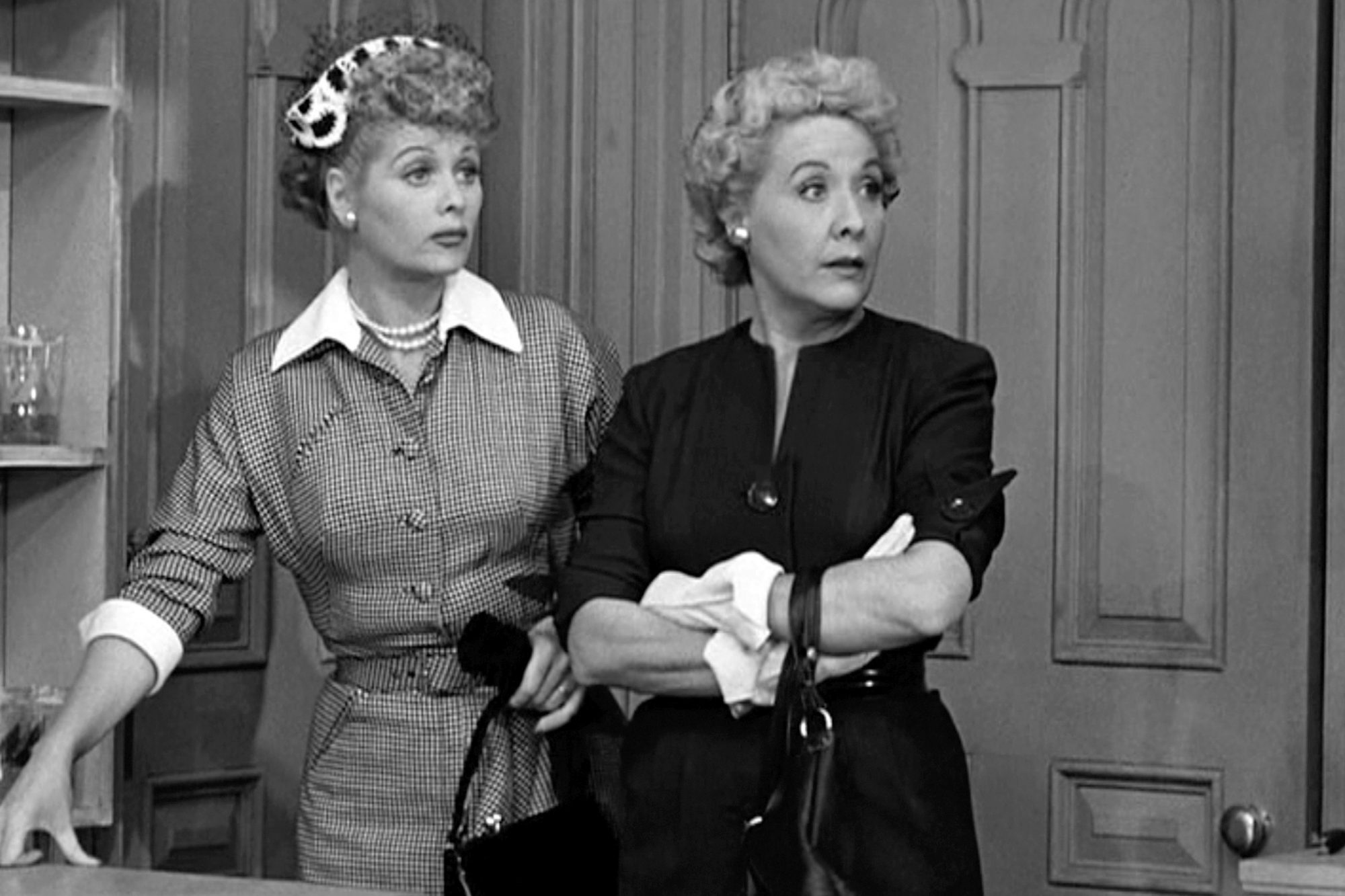 Ball & Vance In 'I Love Lucy'