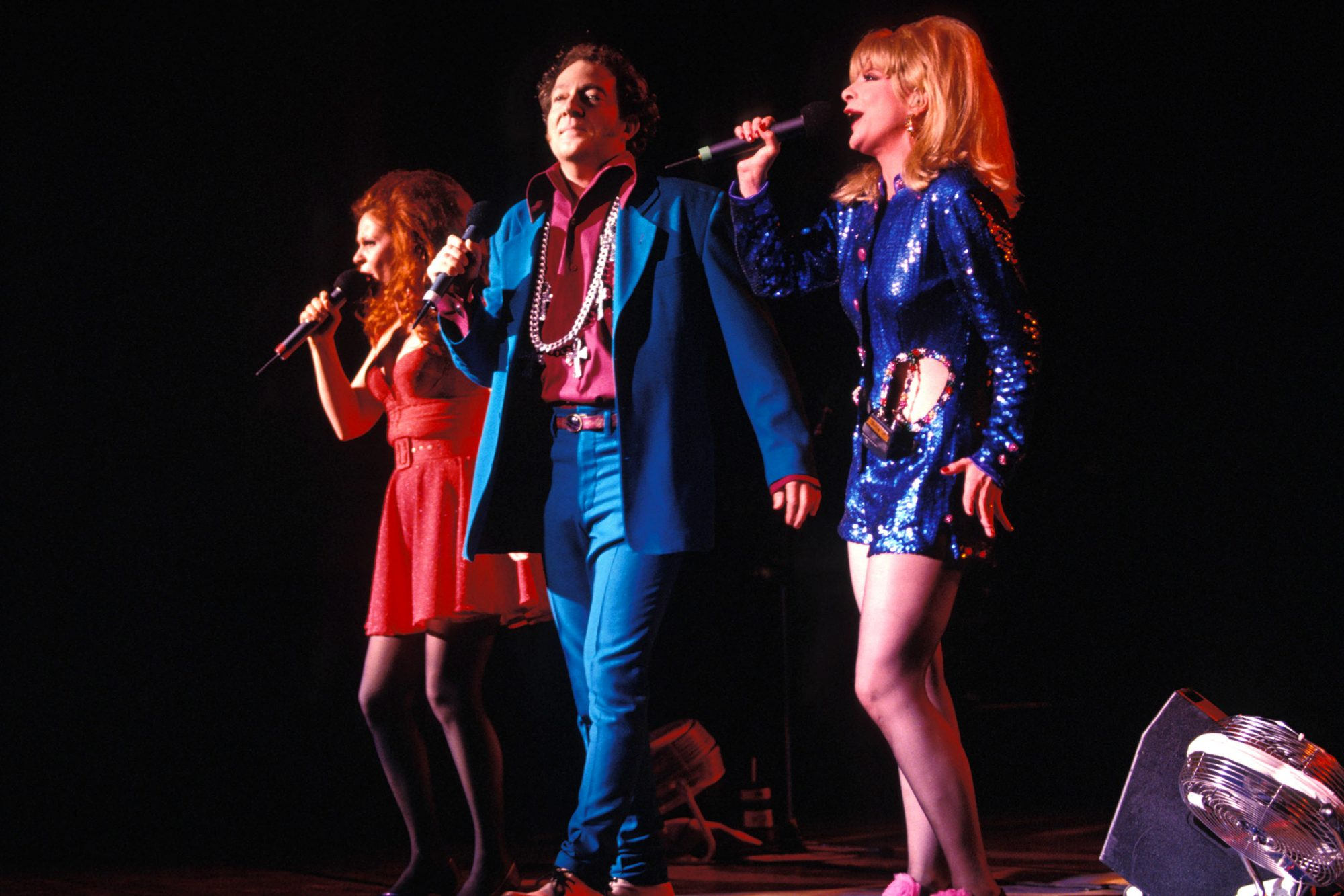 Photo of B-52's and B52'S and Cindy WILSON and Fred SCHNEIDER and Kate PIERSON