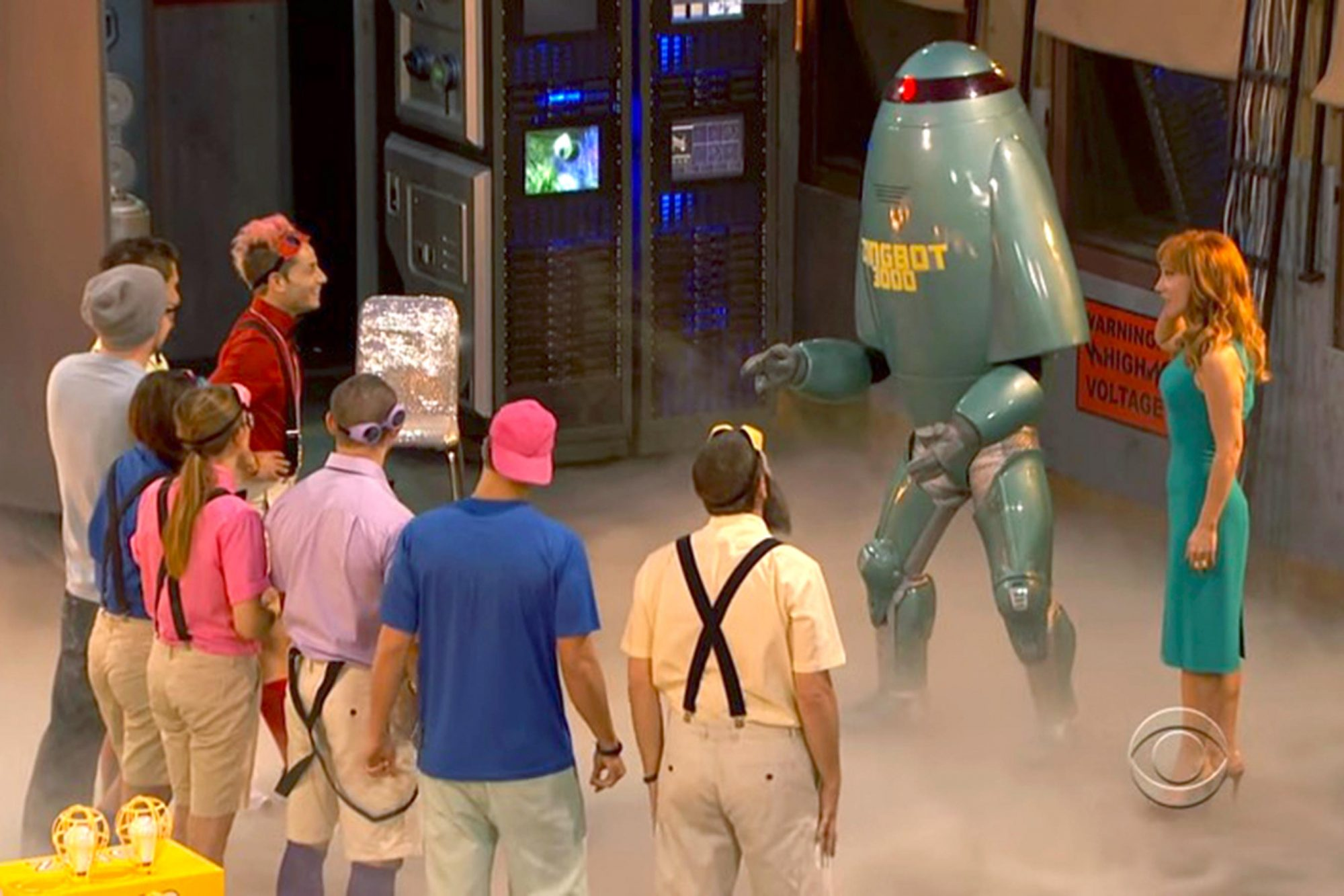 The debut of Zingbot (season 12)