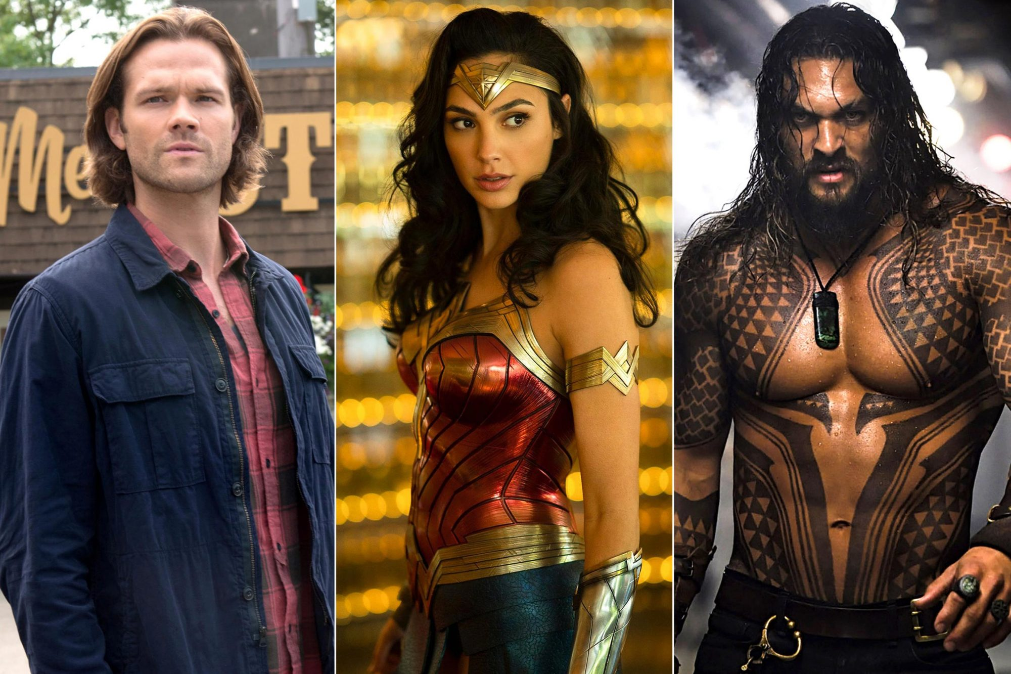 Jared-Padalecki-in-Supernatural,-Gal-Gadot-in-Wonder-Woman-1984,-and-Jason-Momoa-in-Aquaman