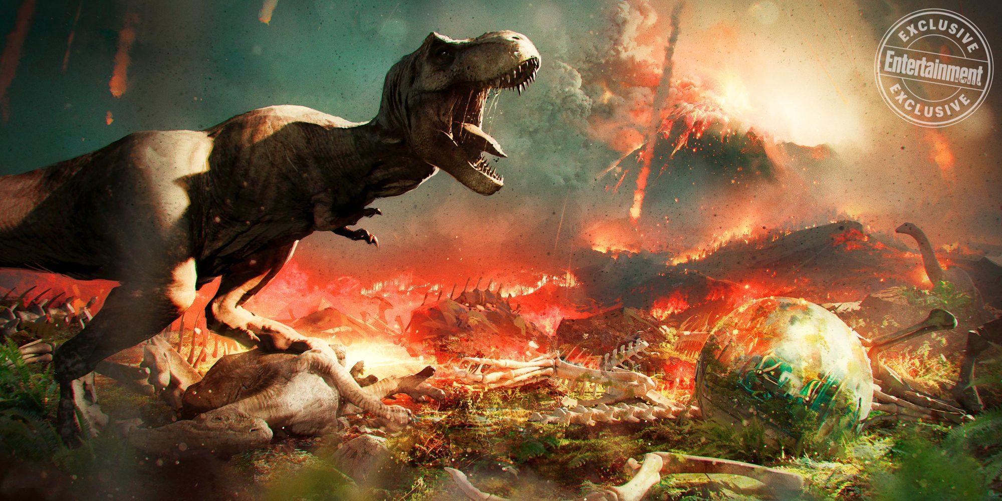 Jurassic Park: Fallen Kingdom (2018) concept art