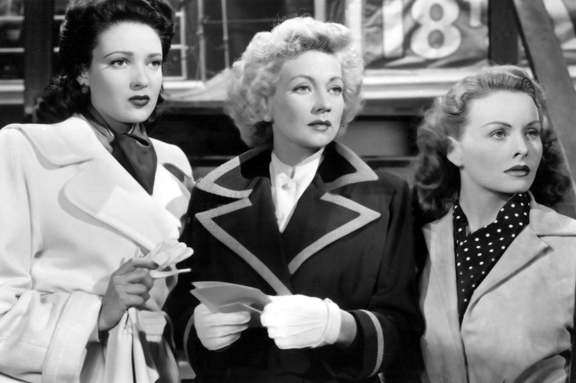 A LETTER TO THREE WIVES, Ann Sothern, Linda Darnell, Jeanne Crain, 1949. TM and Copyright © 20th Cen