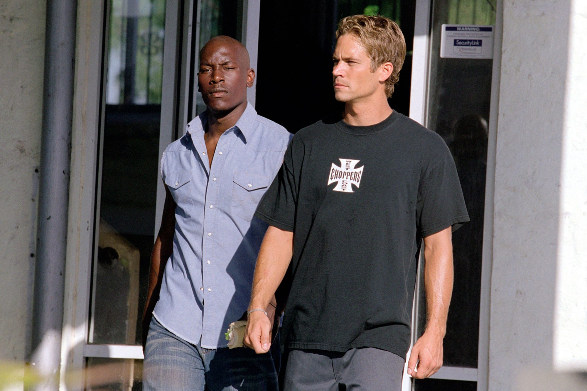 2 FAST 2 FURIOUS, Tyrese Gibson, Paul Walker,  2003, (c) Universal/courtesy Everett Collection