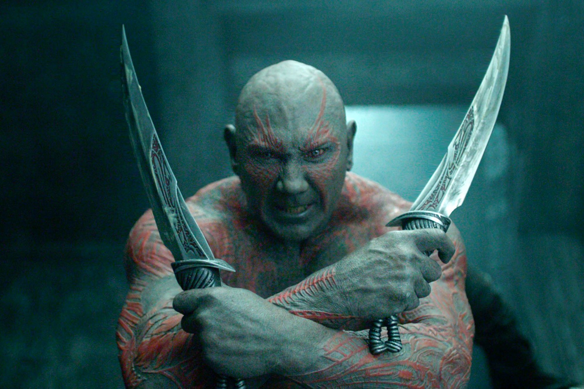 GUARDIANS OF THE GALAXY, Dave Bautista, 2014. /©Walt Disney Studios Motion Pictures/Courtesy