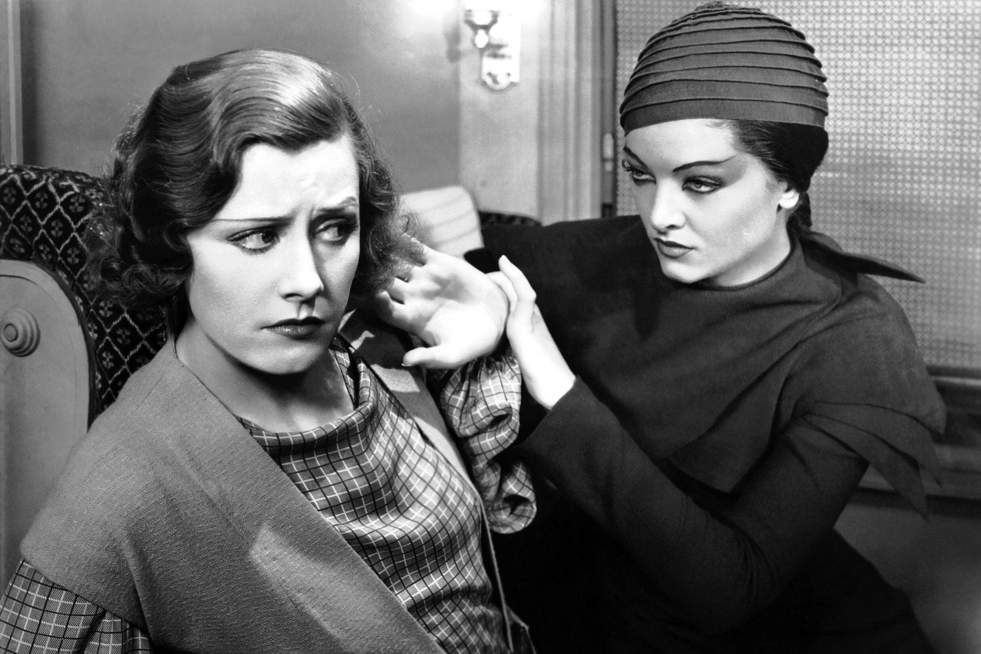 THIRTEEN WOMEN, Irene Dunne, Myrna Loy, 1932