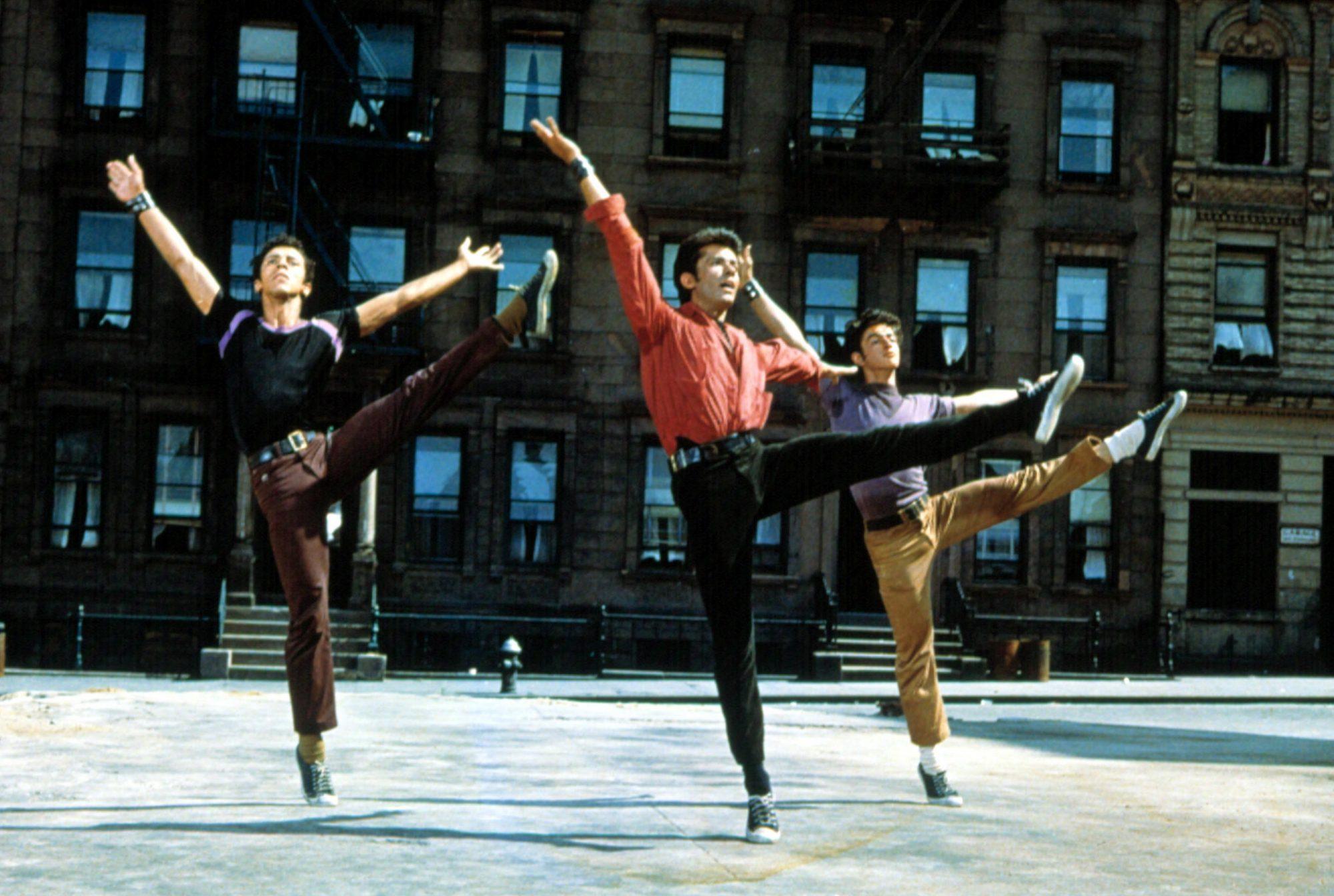WEST SIDE STORY, George Chakiris (center), 1961