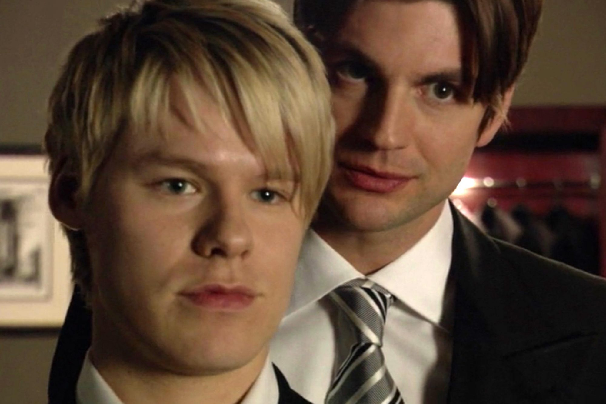 "Queer as Folk""We Will Survive!""Randy Harrison and Gale Harold"