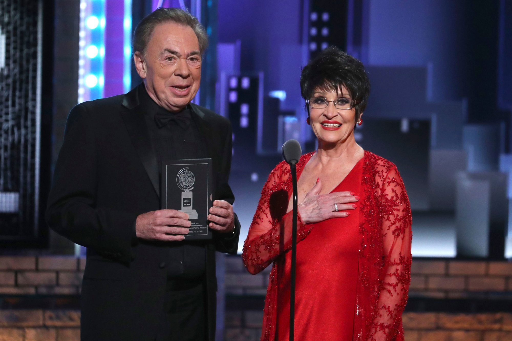 The Andrew Lloyd Weber and Chita Rivera medley