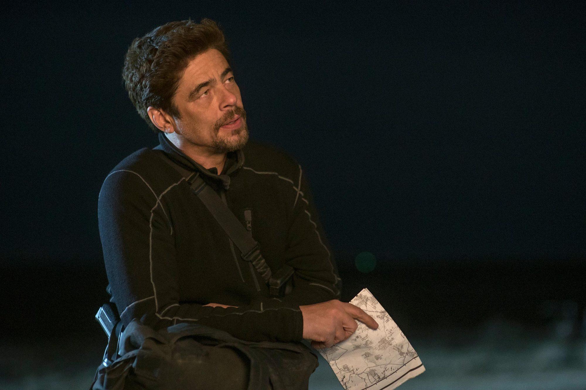 Benicio Del Toro stars in SICARIO 2: SOLDADO.