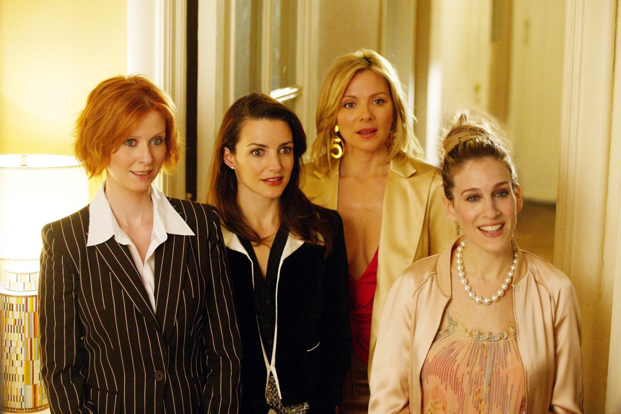 Miranda, Charlotte, Samantha, and Carrie (Sex and the City)