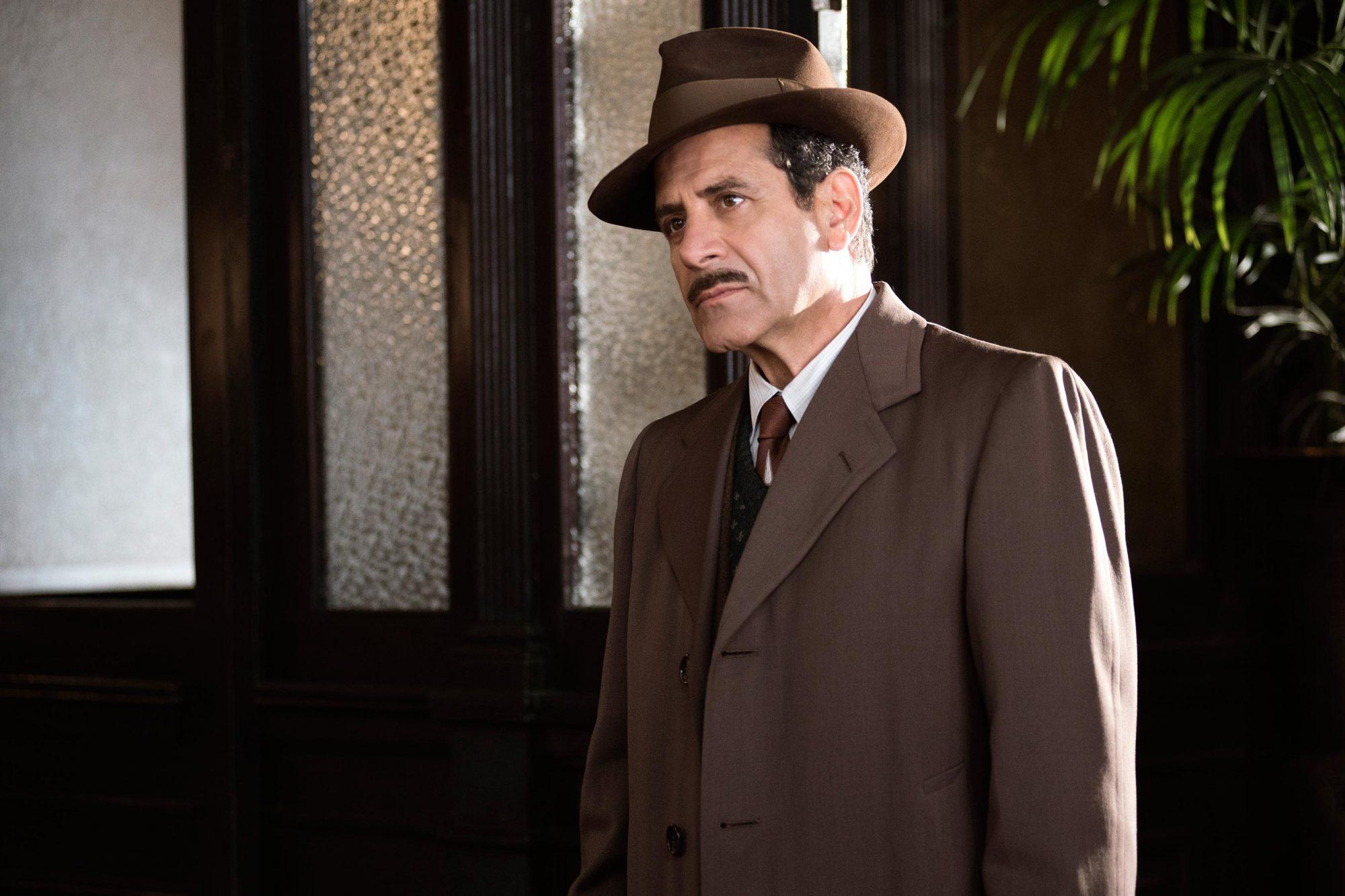 Tony Shalhoub in Season 1 of The Marvelous Mrs. Maisel.