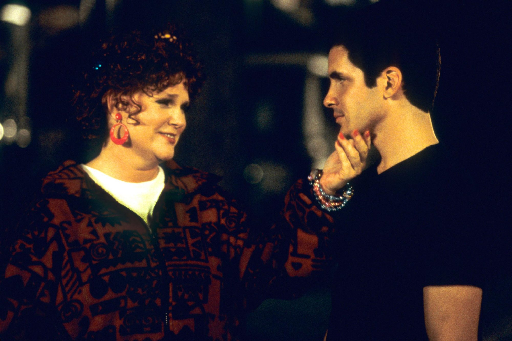 QUEER AS FOLK, (from left): Sharon Gless, Hal Sparks, 2000-05. © Showtime Network / Courtesy: Everet