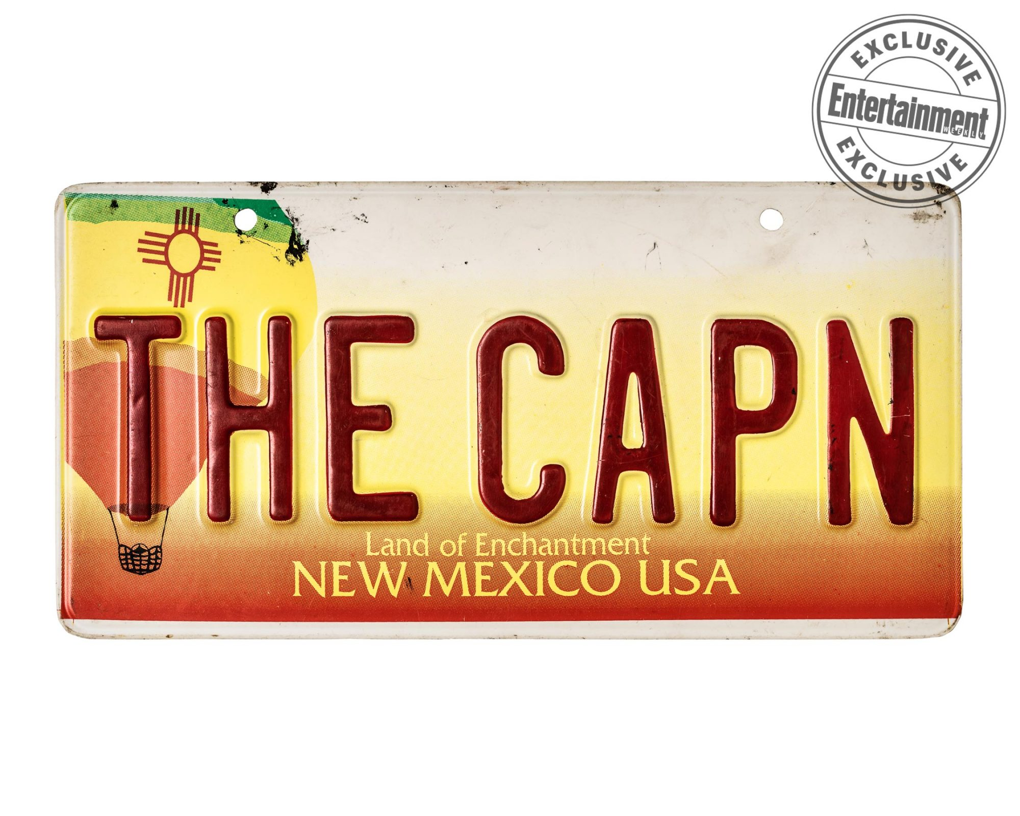 THE CAPN license plate