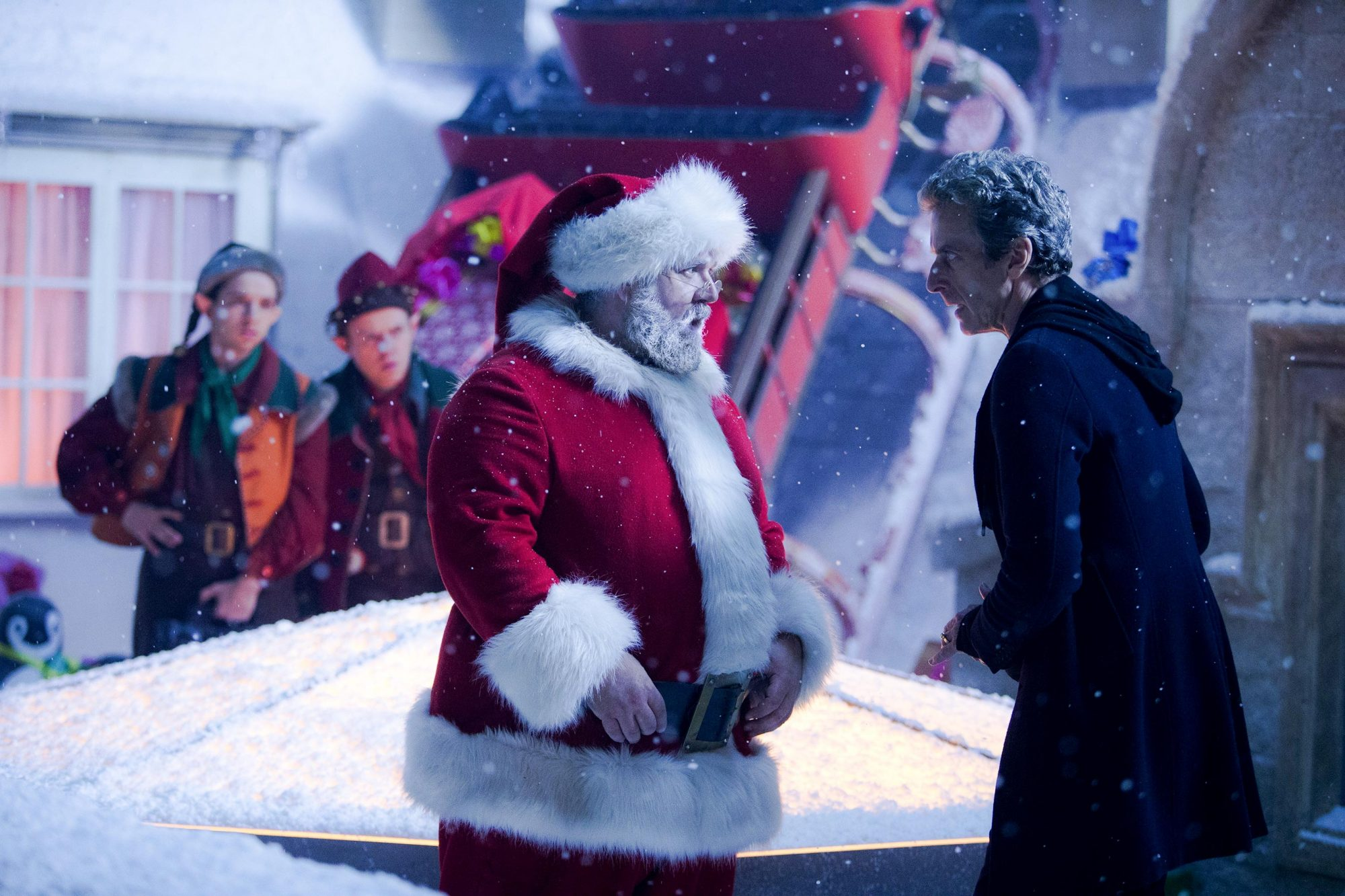 Doctor Who Christmas Special 2014. 'Last Christmas' by Steven Moffat
